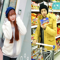New 2014 Autumn Winter Wool Fashion Women/Men Hats Lovers Stars Caps 2 Colors Gifts Free Shipping