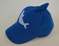2014-2015 New Children Cap Shark Hats Sunbonnet  Carton Bucket Original Order Hats Baby Hat  Baseball Beach 2 Size 48-50,52-54cm