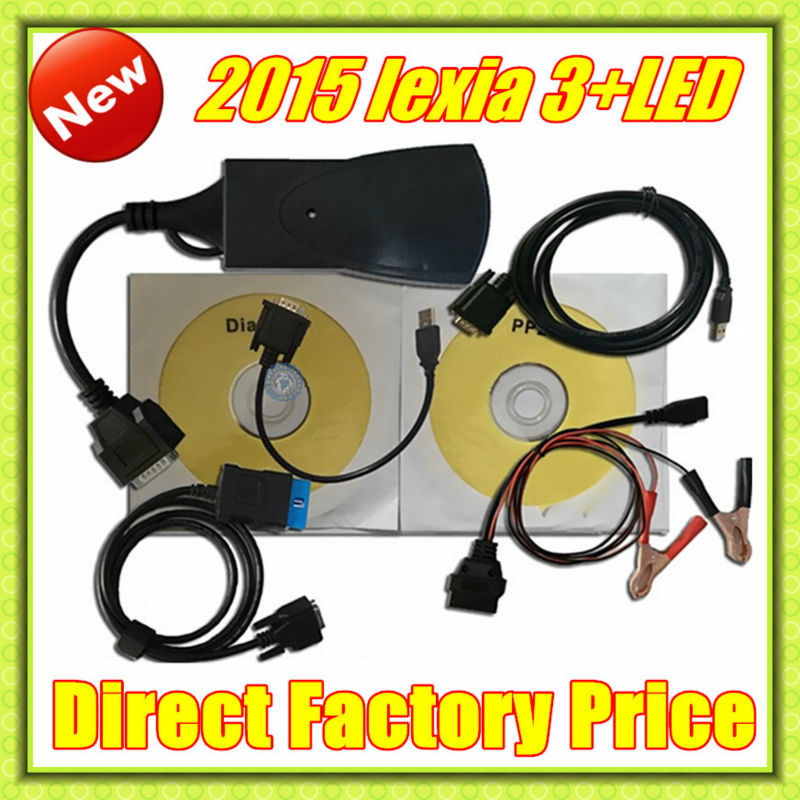 Best qaulity Lexia 3+ with LED Cable !!! 2014 Top selling lexia3 Diagnostic Tool pp2000 lexia 3,lexia-3 diagbox 7.56 software(China (Mainland))
