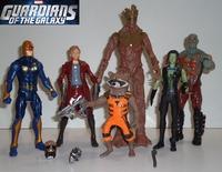 a full set of 6  pcs hand puppets ornaments guarding the galaxy