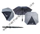Free shipping by sea,nylon silver coating.Anti-UV14mm fiberglass shaft and  ribs,square shape golf umbrella,windproof,O shape