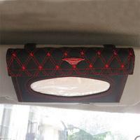 Classic wine red wine series sun-shading board tissue box aw-28 car tissue box