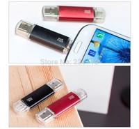 High quality 32GB Smart Phone Tablet PC USB Flash Drive pen drive OTG external storage micro 64g usb drive memory stick usb 2.0