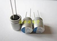 Free shipping solid capacitor 16V820UF 820UF16V volume 10*12.5mm ,Graphics motherboard capacitance