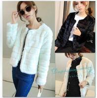 2014 New Winter European and American Fashion Female Temperament Small Jacket Women Warm Wool Coat Free Shipping