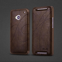 YOSA02  oscar II series leather pu case cover for HTC New ONE m7 wallet cases free shipping wholesales
