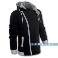 New autumn and winter plus size men's clothing and fat man City boy Korean leisure jacket oversize coat