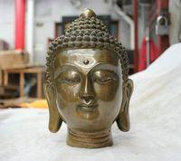 Wonderful China folk Culture Temple bronze statue Shakyamuni Tathagata Buddha statue wholesale Cheap silver art gif