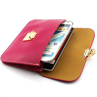 Crazy Horse lines horizontal version of Messenger Bag Leather Cover Case For Samsung Galaxy Note 2 ii N7100 Free Shipping