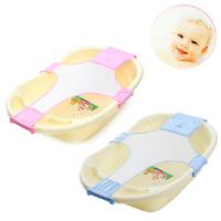 1Pc Baby Products Newborn Bath Seat Bathing Adjustable Baby Bathtub Safety Bath Seat Support Bath Accessories pa871405