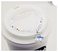 Genuine Austrian crystal bracelet Handchain trinkets star girlfriend birthday gift to send special offer free shipping
