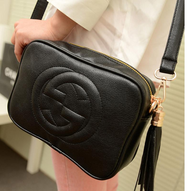 2014 fashion tassel small bags mini messenger bag vintage messenger bag one shoulder women's handbag(China (Mainland))