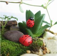 Mini Wood Red Ladybug Stickers 1pack/lot 100pcs Sponge Self-adhesive Baby DIY Fridge Magnets for Scrapbooking QB870039