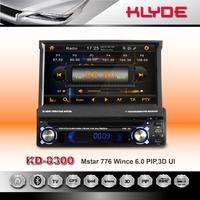 One Din Car DVD Player For Universal Car 7 Inch Detachable Touch screen DVD/VCD/CD/MP3/MP4/WMA/JPEG/ USB/SD/ FM /AM