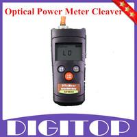 2014 New Fiber Optic FTTH Tool Kit Fiber Cleaver FC-6S +1mw Visual Fault Locator+mini Fiber Optical Power Meter Free Shipping