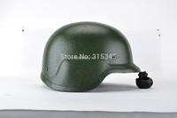 PASGT NIJ IIIA 9mm M88 Green Protective Ballistic Helmet, Army Combat Tactical Bulletproof Helmet Military Protection Equipment