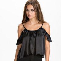 Free Shipping 2015 Summer New Sexy Women Strap Tank Tops Chiffon Sleeveless Vest Camis Black S M L XL XXL