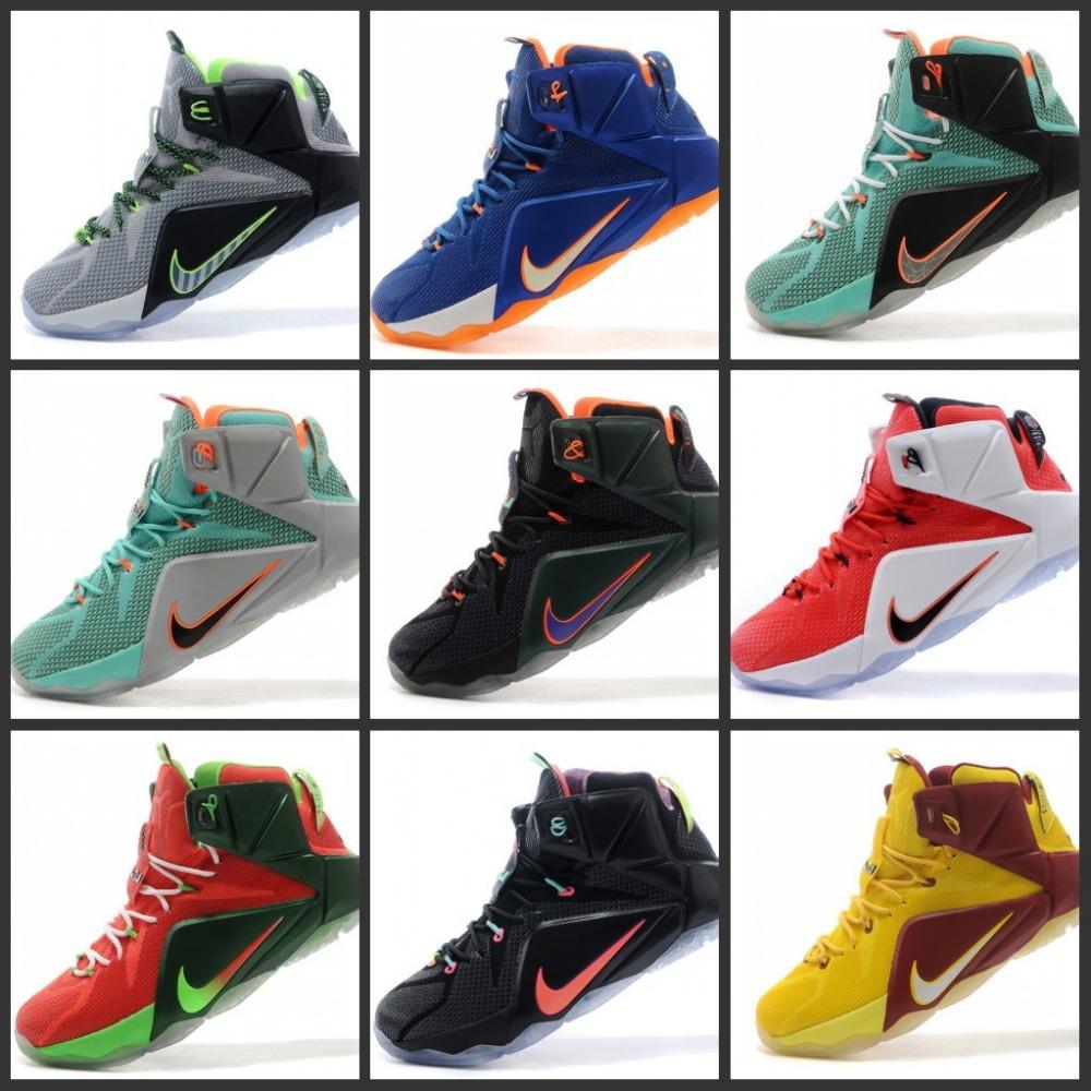 free shipping 2014 sale lebron 12 basketball shoes