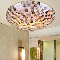 The New Mediterranean-style Bohemian Modern Minimalist Style Interior Glass Chandelier Lighting B11