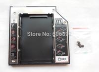 Free Shipping 9.5mm SATA 2nd HDD Caddy Hard Disk Drive For DV3 DV4 DV5 DV6 DV7 DV8 CD DVD Optical Bay