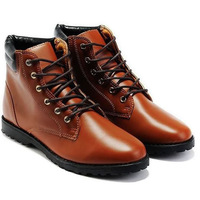 New spring single shoes for men in England increased manufacturers wholesale Korean men wear high shoes export