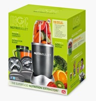 Wholesale Nutri Bullet Food Mixer Machine 220V 600W 12pieces IN 1 New,AU Plugs For Australia New Zealand