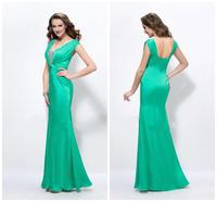Vestidos Sexy Mermaid Green Evening Dresses Long  Woman Dress Party Evening Elegant Mother of the Bride Dresses