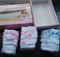 Retails 3pcs/lot (2-5Y) Children Kids Toddler 3-pack girls Panties Underwear For Children Baby Lace Shorts Knickers Underpant