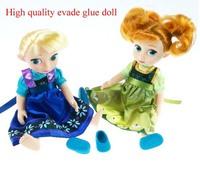 30CM 12'' High quality evade glue Frozen Elsa Anna dolls toy,High simulation Elsa Anna dolls,children doll for Christmas gift