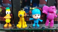 NEW POCOYO Figure Doll Loula & Elly & Pato & Pocoyo lovely Toys For Children