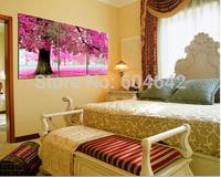 "Wall Home Decoration Cross Stitch Precision Printing  ""Cherry blossom tree"" Cross-Stitch Kit , DIY Cross Stitch Sets,"
