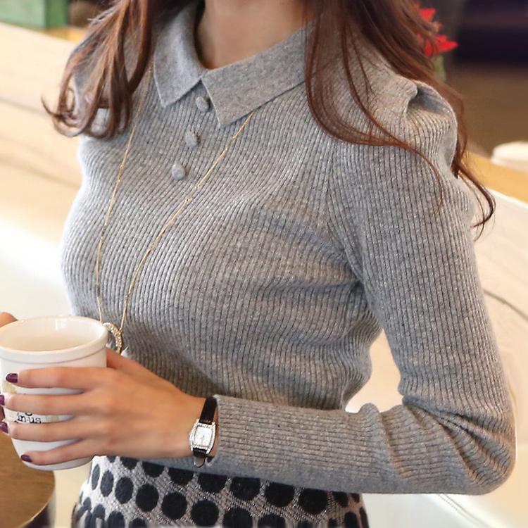 Женский пуловер Women sweater 2015 O cardigan