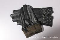 2014 new female ultra soft leather boutique fashion NJ-206 really warm sheepskin gloves