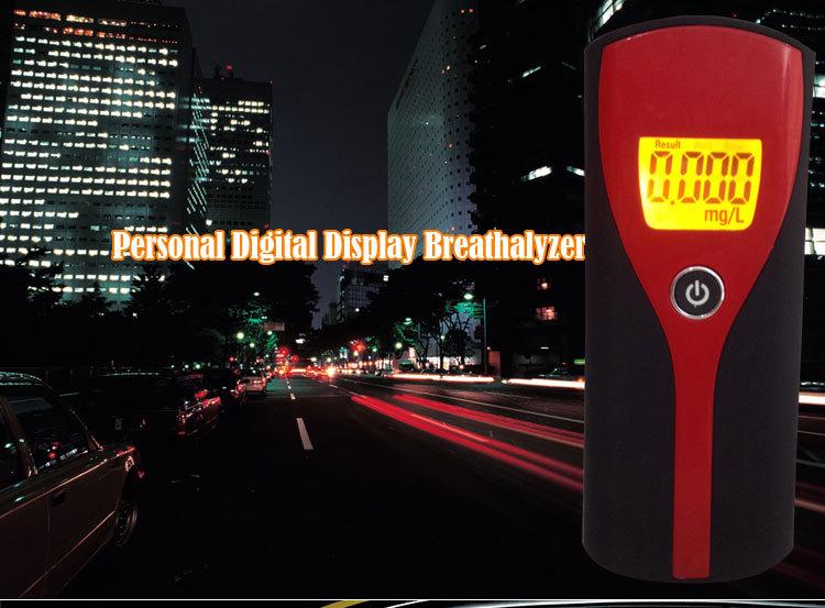 free shipping 2015 Hot Portable Mini Digital Alcohol Breath Tester Professional Breathalyzer Alcohol Meter Analyzer Detector(China (Mainland))