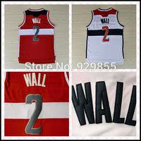 Fast Shipping John Wall Jersey Embroidery Logos Basketball Jerseys Free Shipping
