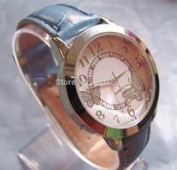 Fashion Watches New arrivals Women Luxury  Two butterflies rhinestones Leather Watch