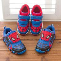 Children Shoe 2014 New Autumn Spiderman Flasher Fashion Sports Sneakers For Kids Boy Sport Brand Children's Shoes Boys Girls