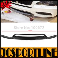 50% OFF 2008-2014 X5 X6 M V Style Carbon Fiber Front Bumper Lip Spoiler For BMW (Fit X5 E70 M X6 E71 M Bumper ) With Free Gift