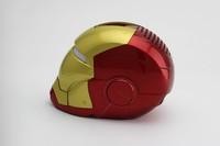 Iron Man Mini Speaker Mini HiFi Boombox Support TF Card /U-Disk  FREE SHIPPING  ZKT