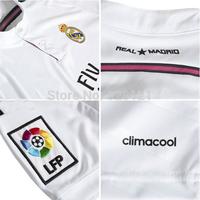 New Best Thailand Quality Real Madrid Home Football Jerseys Ronaldo 7# Away Black Drangon Long Sleeve Soccer Jerseys Player Shir