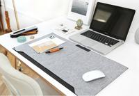 Felt Desk Sets Mat Writing Pad Table Mat Mouse Pad