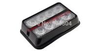 Free Shipping ! 8W   LED Emergency Surface Mount Warning Light/Strobe Kits