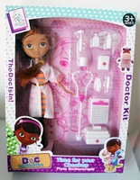 New child medical kit Doc McStuffins toys The little doctor toys children play house muffin girl classic toys