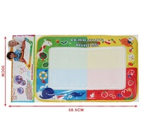 2014 New Hot Sale 46X30cm Water Drawing Painting Writing Mat Board Magic Pen Doodle Gift Toy Learning & Education Free