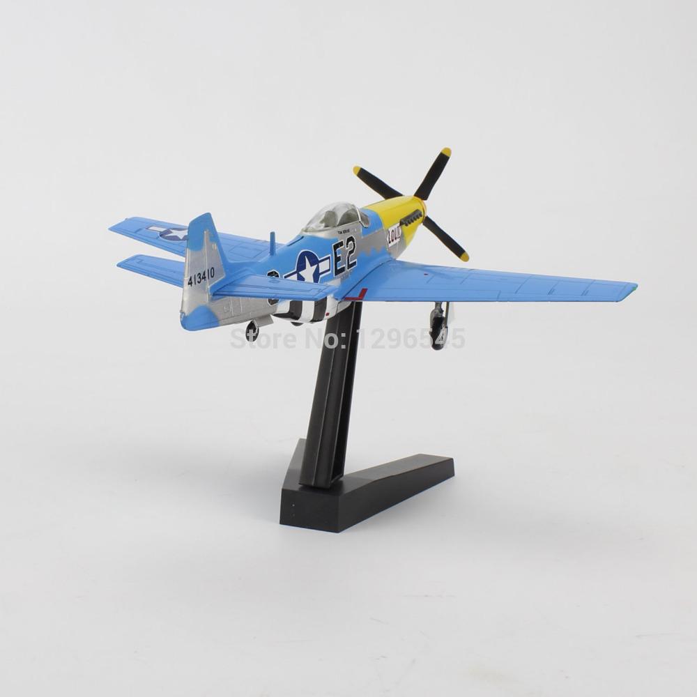 Nouveau modèle d'avion wwii série p-51d mustang air fighteriv planes