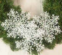 6 pcsChristmas decoration snowflakes christmas snowflakes christmas decoration christmas tree decoration gift