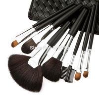 5sets/lot 8PCS Makeup Brush  Make Up Eyeshadow Eyeliner Eyebrow Fan Sweet Powder Brushes Beauty