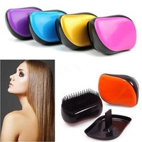 Portable Anti-static Deluxe Detangle Hair Care Styling Beauty Brush Teaser Comb