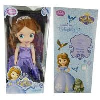 30CM 12'' High quality evade glue classic Sofia the first dolls toy,Sofia Princess dolls,dolls toy for girls,children doll toy