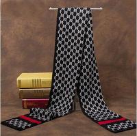 New Fashion Men Famous Brand Scarf Cashmere Square Scarf Men, Designer Luxury Scarves Shawl Warm winter men scarf 180*30